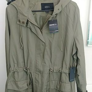 Forever 21 Olive Casual Jacket NWT